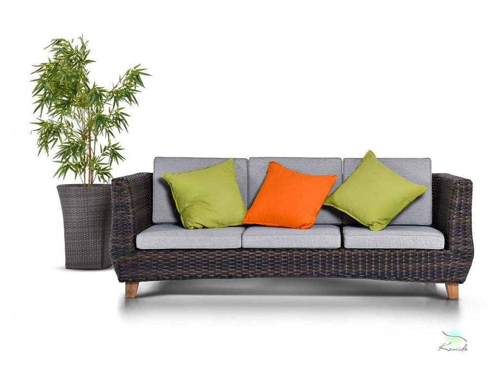Купить уличную плетеную мебель из искусственного ротанга